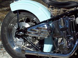1942 Harley Davidson U Model 80 Ci Flathead Custom Bobber