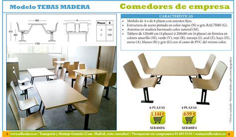 mobiliario comedor mobiliario para comedor de empresa y comedores escolares