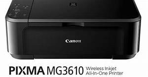 Canon Pixma Mg3610 User Manual
