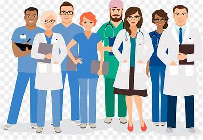 Healthcare Health Team Care Clip Medical Cartoon