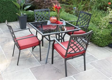 hometrends montclair 5 piece cushioned dining set walmart ca