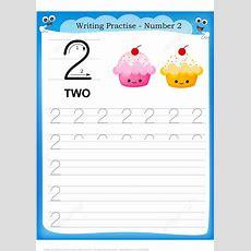 Number 2 Handwriting Practice Worksheet  Free Printable Puzzle Games