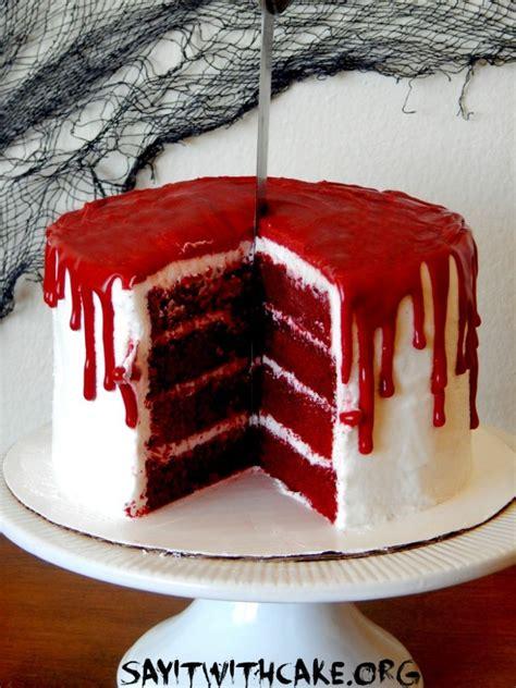 scary good halloween cakes