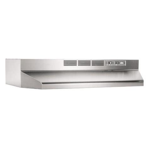 broan ape130ss cabinet range broan 36w in ventless cabinet range ebay
