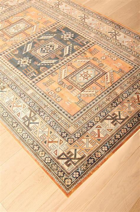 southwest santa fe  mexico copper colored rug woodwaves