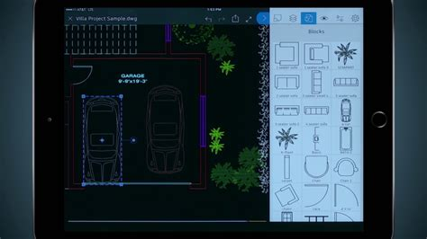 How To Use Mobile by How To Use Blocks In Autocad Mobile App