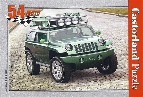 pieces jeep willys castorland j07 jeep willys concept vehicle 54piece barneys news box