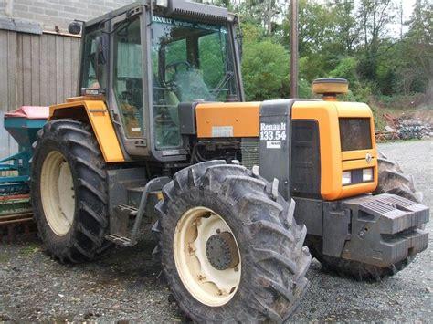 renault 133 54 tz tractonic tracteur technikboerse