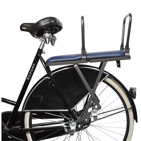 siege de velo siège pour le transport de 2 enfants à vélo