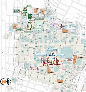 Residence Hall And Dining Map