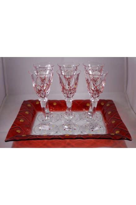 Servizio Bicchieri by Servizio Bicchieri Da Liquore In Cristallo Duilioriccione