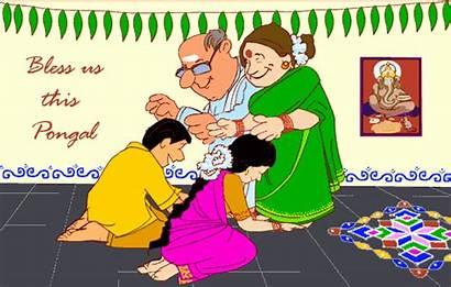 Pongal Sankranthi Happy Kanni Valthukal Nal Subhakankshalu