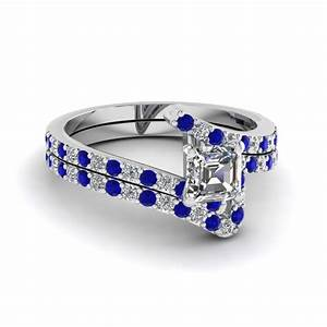 blue sapphire engagement rings fascinating diamonds With sapphire wedding rings sets
