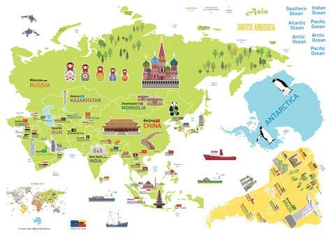 carte du monde enfant stickers pour les b 233 b 233 s sticker carte du monde g 233 ante pour enfants ambiance sticker