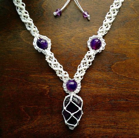 pendant string bracelet 19 macramé necklace patterns guide patterns