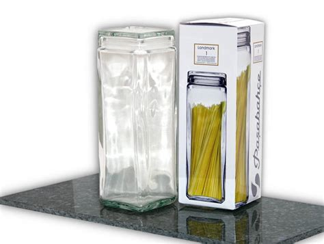 Storage Glass, Container, Big Glass Jar For Pasta