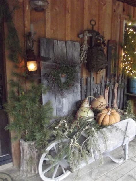 Best Images About Primitive Porches Outside Decor