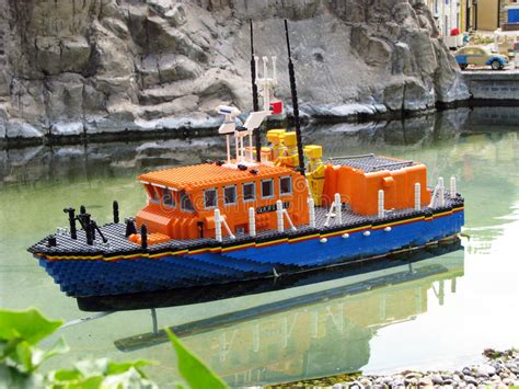Legoland Boat by Lego Boat Editorial Photography Image Of Place Brick