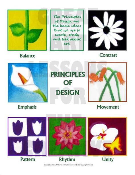 principles  design   floral theme principles