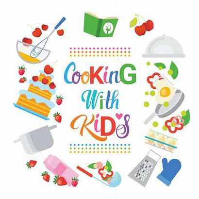 Cooking Classes Hobby Children Culinary Class Vector