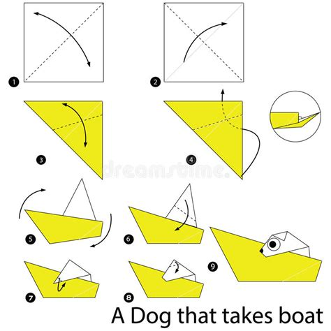 Origami Boat Step By Step by Step By Step How To Make Origami A That