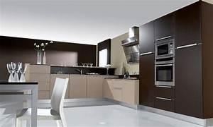 la cuisine marron inspiration cuisine With la couleur taupe se marie avec quelle couleur 7 idees couleurs pour sa cuisine inspiration cuisine