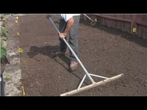 How To Level Your Backyard by Lawn And Yard Help How To Grade Your Yard