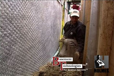 Holmes On Homes Basement Waterproofing by Basement Technologies Featured On Holmes On Homes For