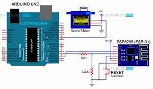 Web Controlled Servo Using Esp8266