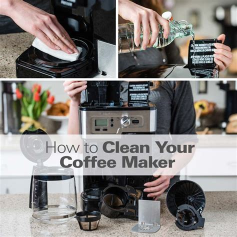 how to clean a coffee maker how to clean a coffee maker hamiltonbeach com