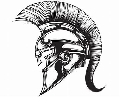 Helmet Spartan Drawing Trojan Gladiator Roman Warrior