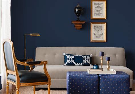 examples  eye popping blue interior design