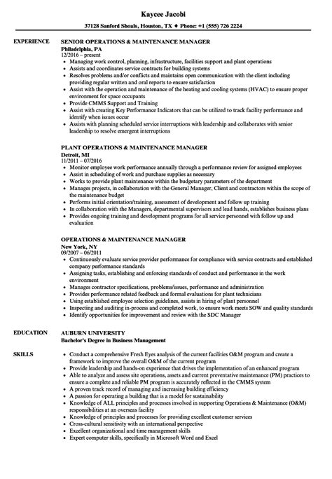 Resumes Apartment Maintenance Supervisor Resume Heat Treating