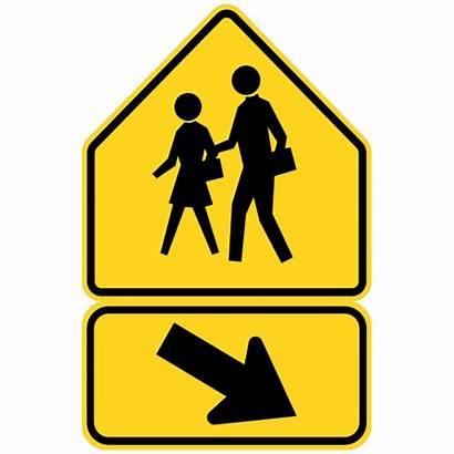 Crosswalk Magnet Right