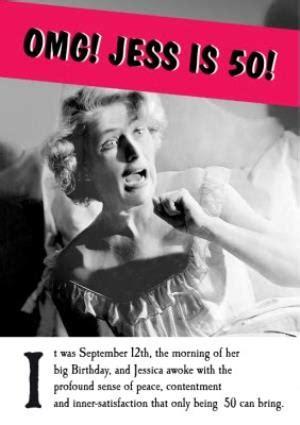 funny  birthday card  women moonpig