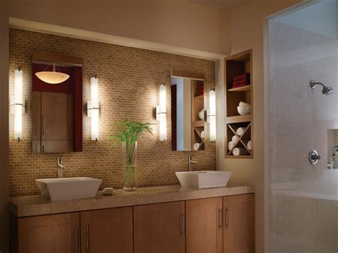 stunning contemporary bathroom lighting fixtures modern
