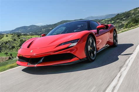 The car looks like a ferrari and even has a flying buttress and a split glass area at the rear. Ferrari SF90 Stradale (2020) review: an electrifying ...