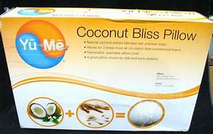 Yume coconut bliss pillow 19 x 30 in ebay for Coconut bliss pillow