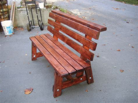 diy  bench    wait