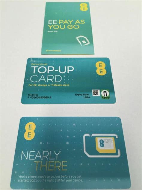 new pay as you go ee network sim card for iphone 5 6 6plus 7 s6 s7 m10 ebay