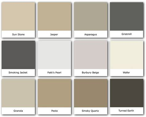 colorevolution neutrals ideas for the house