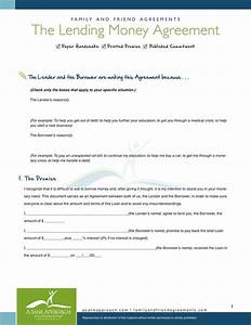 10 best images of borrow money agreement sample personal for Loan money agreement letter