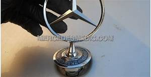 How To Replace Star Emblem Ornament Mercedes