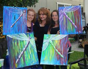 Paint Party Canvas Paintings