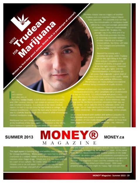 Money Media Release News For Marijuana