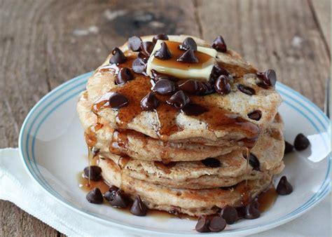 chocolate chip pancakes chocolate chip pancakes kitchen treaty