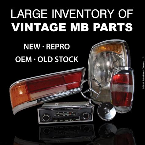 We did not find results for: Parts: Large Selection of Vintage Mercedes-Benz Parts