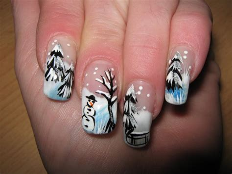 Nail Art Winter : Gorgeous Winter Inspired Nail Designs