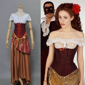 The Phantom of the Opera Christine Daae Dress Costume ...