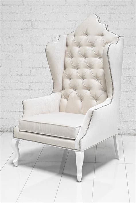 white wingback chairs roomservicestore com casablanca wing chair in